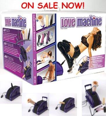 TLC Love Machine - The Ultimate Sex Partner Fucking Machine