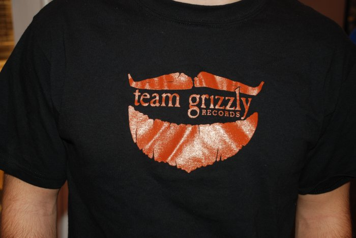 Team Grizzly T -Mustache