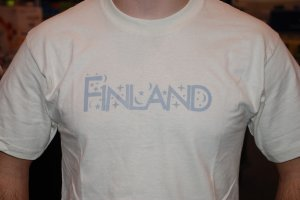 Finland- Starry Starry T- Silver