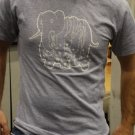 Grey Elephant T- Clock Hand Strangle