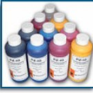 ECO SOLVENTS INKS FOR THE HP DESIGNJET 9000, 1000  & SEIKO COLORPAINTER (6 COLORS)