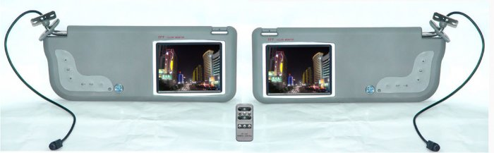Replacement Sun Visor with build-in TFT 5.6'' LCD Monitor