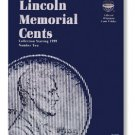#8196 Whitman Folder for Lincoln Memorial Cents 1999-Date