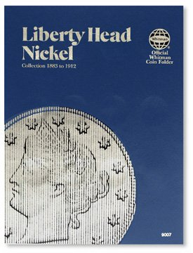 #9007 Whitman Folder for Liberty Head Nickels
