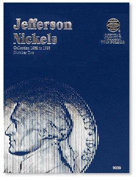 #9039 Whitman Folder for Jefferson Nickels 1962-1995