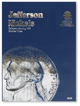 #9035 Whitman Folder for Jefferson Nickels 1996-Date