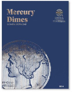 #9014 Whitman Folder for Mercury Dimes