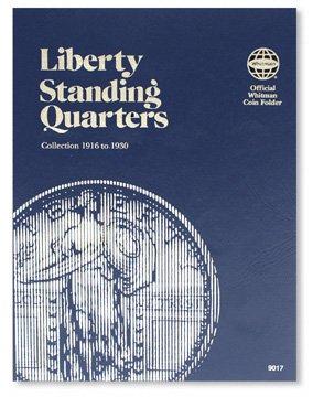 #9017 Whitman Folder for Standing Liberty Quarters