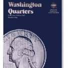 #9018 Whitman Folder for Washington Quarters 1932-1947