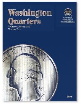 #9038 Whitman Folder for Washington Quarters 1988-2000