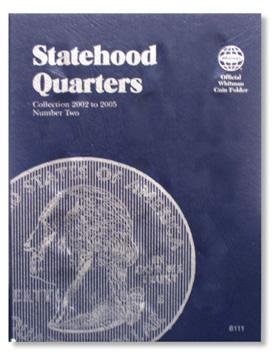 #8111 Whitman Folder for Statehood Quarters 2002-2005
