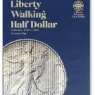 #9021 Whitman Folder for Walking Liberty Half Dollars 1916-1936