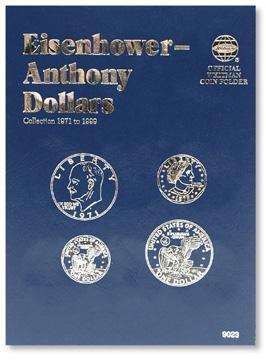#9023 Whitman Folder for Eisenhower & Anthony Dollars