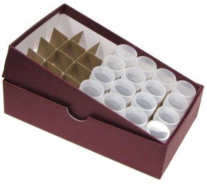 Roll Storage Box for Small Dollars