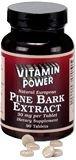 Pine Bark Extract 30 mg (4:1 ratio)    90 Tablets    623P