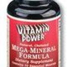 Mega-Mineral Formula (10 Essential Minerals)    250 Tablets    1088U