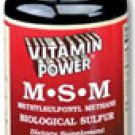 MSM 1177 mg Tablets    90 Tablets    641P