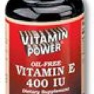 Vitamin E 400 IU - Oil Free    100 Nutra Caps    264R