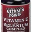 Vitamin E & Selenium Complex    100 Softgel Capsules    238R