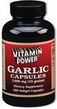 Garlic Oil 1000 mg Softgels    250 Softgel Capsules    1068U