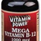Mega B-12 1000 mcg    500 Tablets    970V