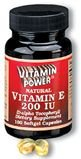 Natural Vitamin E 200 IU Softgels    500 Softgel Capsules    502V