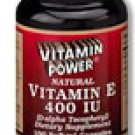 Natural Vitamin E 400 IU Softgels    500 Softgel Capsules    504V