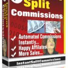 """Instant Split Commissions""   -   Reward Your Affiliates Fast"