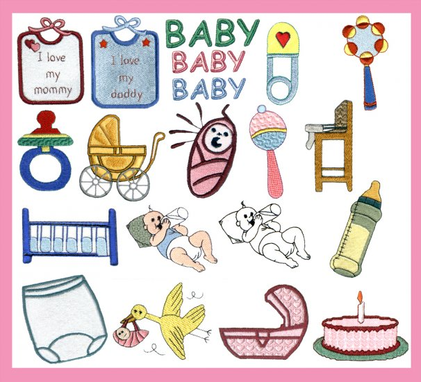 >>> MACHINE EMBROIDERY INFANT AND TODDLER DESIGNS