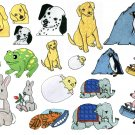 Machine Embroidery Designs CUTE ANIMALS