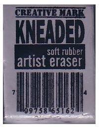 Kneaded Eraser - large, blends & erases