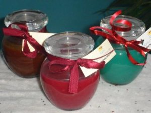 5 oz Bean Pot Candle - Apple Cinnamon