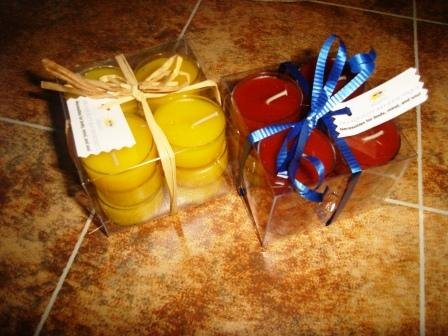 Soy Tea Lights - Box 0f 12 - Your choice of scent