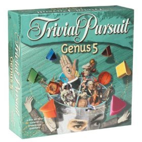 Trivial Pursuit Genus 5 Game