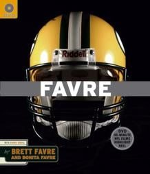 FAVRE Brett Favre and Bonita Favre Book NFL Football Packers
