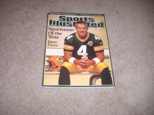 Brett Favre Sports Illustrated SI Sportsman Of Year 2007 NFL Football Packers