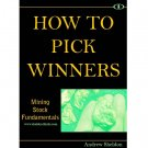 Mining Stock Fundamentals - How to Pick Winners (eBook)