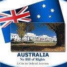 Australia - No Bill of Rights: A Case for Judicial Activism (eBook)