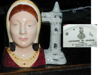 Royal Doulton Jug Catherine of Aragon,