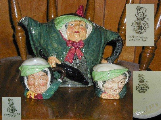 Royal Doulton Sairey Gamp Teapot
