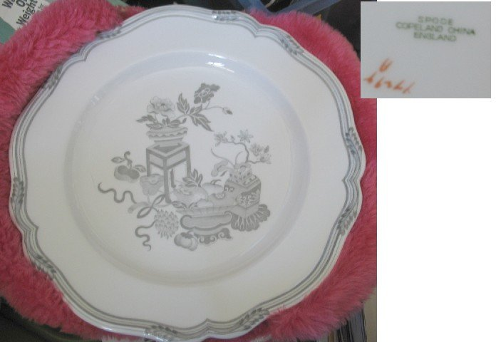 UNUSUAL Spode Copeland China Plate