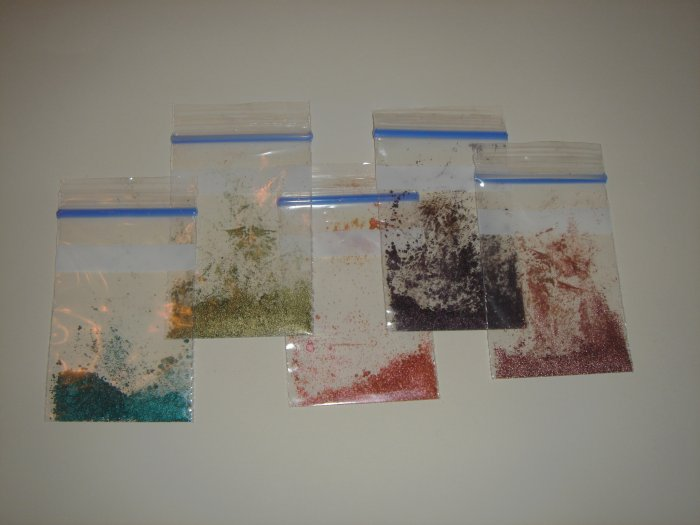 MAC Pigment Sample Baggies 5 for $4 free shipping