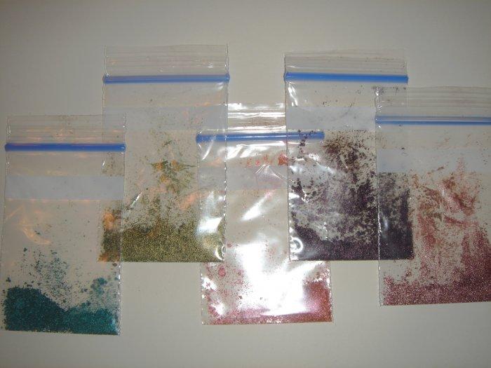 MAC Pigment Sample Baggies~~  5 baggies for $5.75 shipped (US/CA)