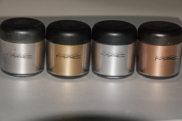 "MAC Pigment Samples ""Pro Metal Color Set"" (free ship)"