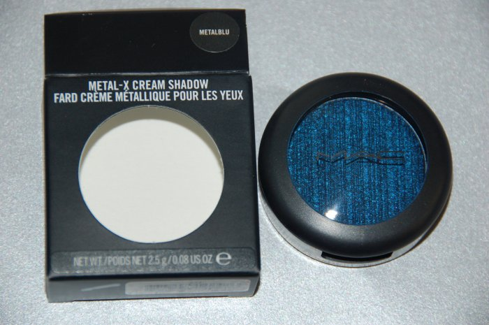 "MAC Metal X Eyeshadow ""MetalBlu""  Brand New Limited Edition"
