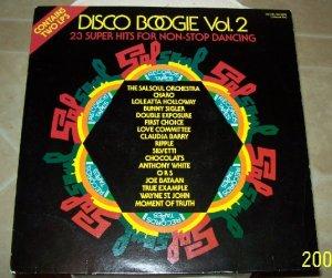 DISCO BOOGIE VOL 2  SALSOUL 1978 Vintage Vinyl ALBUM  VERY RARE