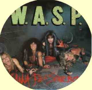 "WASP Vintage Vinyl PICTURE DISC 12"" UK 1984 Blackie and the Boys  MINT"
