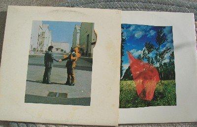$ SOLD $  PINK FLOYD WISH YOU WERE HERE Vintage Vinyl LP 1975