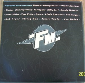 FM  Rock Movie SOUNDTRACK  Rare Vintage Vinyl with Poster Jimmy Buffet, Queen,  Eagles