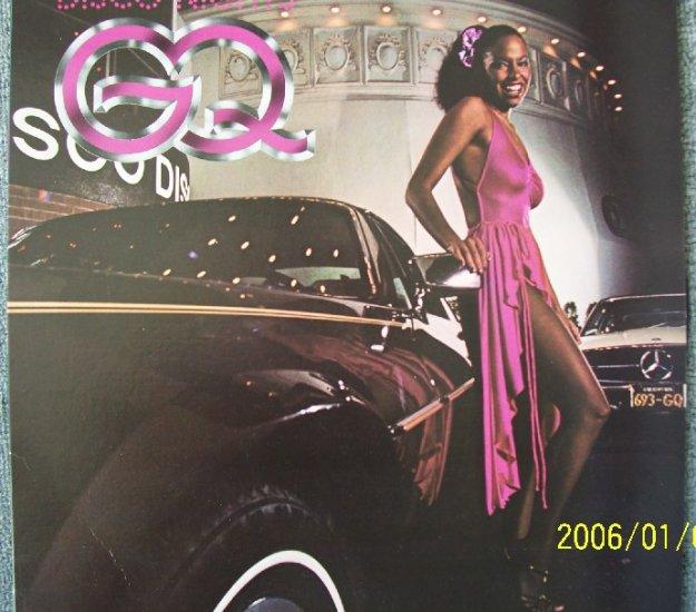 GQ  DISCO NIGHTS  Rock Freak Vinyl Record LP